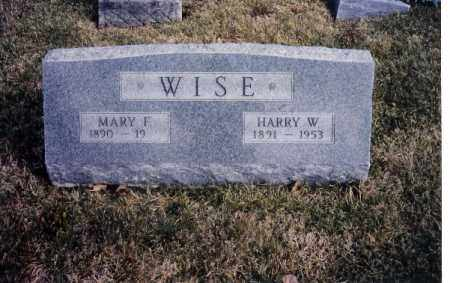WISE, HARRY W. - Miami County, Ohio | HARRY W. WISE - Ohio Gravestone Photos