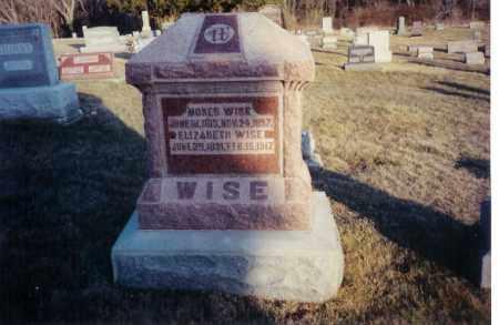 WISE, MOSES - Miami County, Ohio | MOSES WISE - Ohio Gravestone Photos