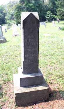 BAKER, JOHN MALANTHAN - Monroe County, Ohio   JOHN MALANTHAN BAKER - Ohio Gravestone Photos