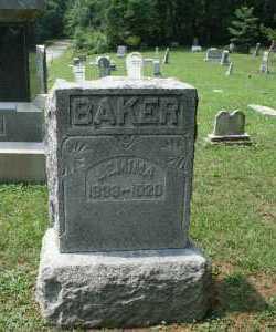 BAKER, JEMIMA - Monroe County, Ohio | JEMIMA BAKER - Ohio Gravestone Photos