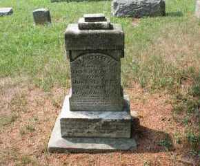BAKER, JACOB N. - Monroe County, Ohio | JACOB N. BAKER - Ohio Gravestone Photos
