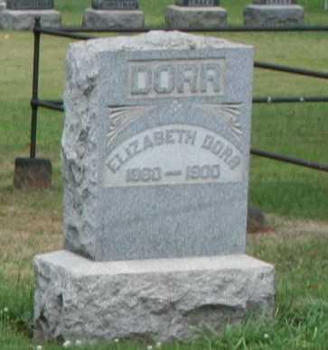 DORR, ELIZABETH - Monroe County, Ohio | ELIZABETH DORR - Ohio Gravestone Photos