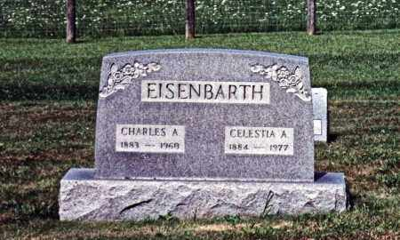 FOX EISENBARTH, CELESTIA - Monroe County, Ohio | CELESTIA FOX EISENBARTH - Ohio Gravestone Photos