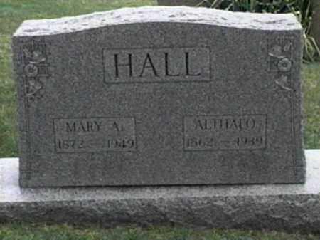 HALL, ALTHALO - Monroe County, Ohio | ALTHALO HALL - Ohio Gravestone Photos