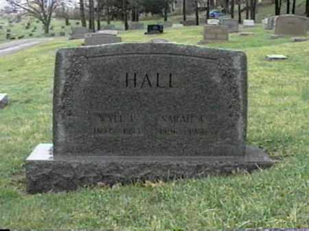 HALL, SARAH A. - Monroe County, Ohio   SARAH A. HALL - Ohio Gravestone Photos