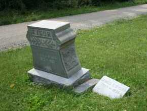 KYSOR, EMMA - Monroe County, Ohio | EMMA KYSOR - Ohio Gravestone Photos