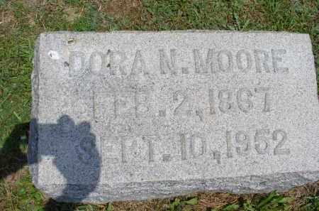 MOORE, DORA N. - Monroe County, Ohio | DORA N. MOORE - Ohio Gravestone Photos