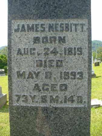 NESBITT, JAMES - Monroe County, Ohio   JAMES NESBITT - Ohio Gravestone Photos