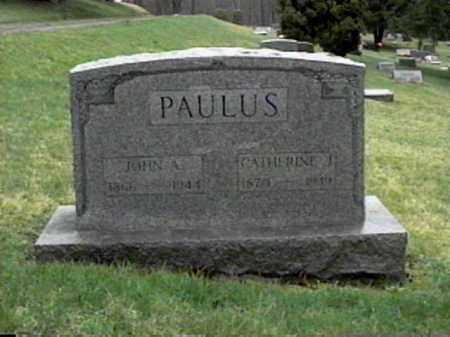 LATTA PAULUS, CATHERINE J. - Monroe County, Ohio | CATHERINE J. LATTA PAULUS - Ohio Gravestone Photos