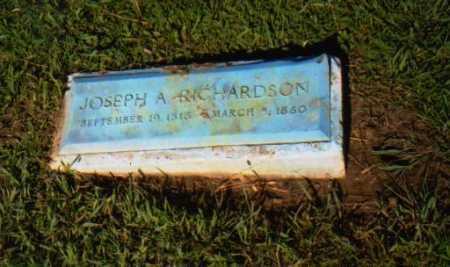RICHARDSON, JOSEPH A. - Monroe County, Ohio | JOSEPH A. RICHARDSON - Ohio Gravestone Photos