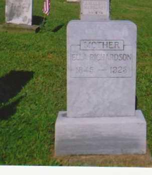 RICHARDSON, MARY ELLEN - Monroe County, Ohio | MARY ELLEN RICHARDSON - Ohio Gravestone Photos