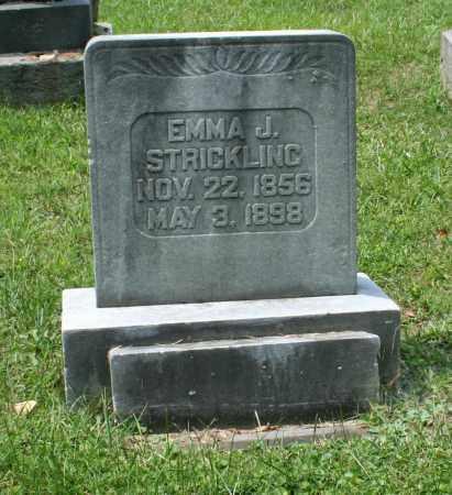 STRICKLING, EMMA JANE - Monroe County, Ohio | EMMA JANE STRICKLING - Ohio Gravestone Photos
