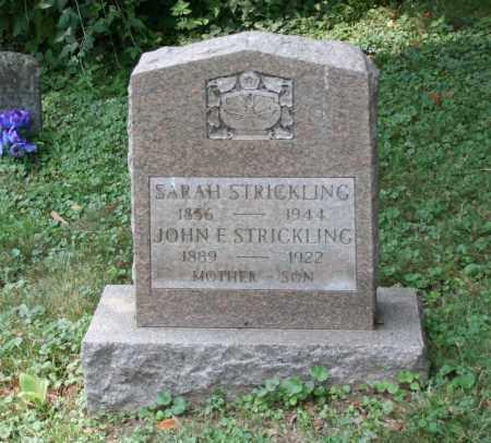 STRICKLING, JOHN E - Monroe County, Ohio | JOHN E STRICKLING - Ohio Gravestone Photos