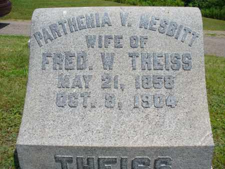 NESBITT THEISS, PARTHENIA V. - Monroe County, Ohio   PARTHENIA V. NESBITT THEISS - Ohio Gravestone Photos