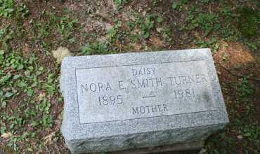 SMITH TURNER, NORA E - Monroe County, Ohio | NORA E SMITH TURNER - Ohio Gravestone Photos