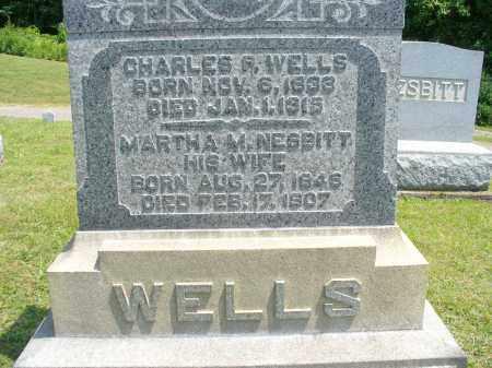 WELLS, CHARLES P - Monroe County, Ohio | CHARLES P WELLS - Ohio Gravestone Photos