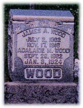 WOOD, ADALAIDE - Monroe County, Ohio | ADALAIDE WOOD - Ohio Gravestone Photos