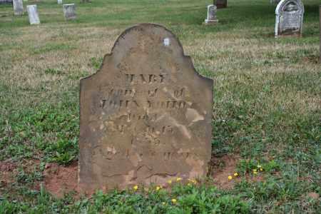 YOHO, MARY - Monroe County, Ohio | MARY YOHO - Ohio Gravestone Photos