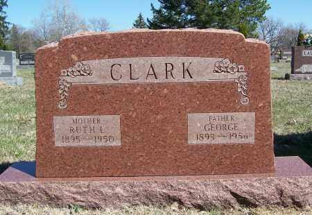 CLARK, GEORGE - Montgomery County, Ohio | GEORGE CLARK - Ohio Gravestone Photos