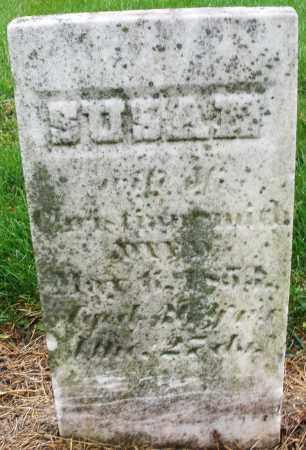?, SUSAN - Montgomery County, Ohio   SUSAN ? - Ohio Gravestone Photos