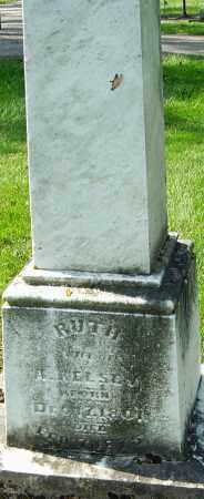 ABNER, RUTH - Montgomery County, Ohio | RUTH ABNER - Ohio Gravestone Photos