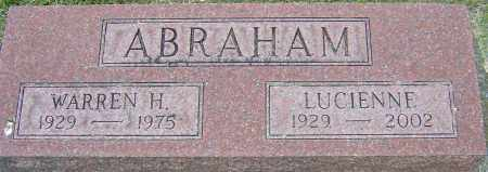 MAGUIRE ABRAHAM, LUCIENNE - Montgomery County, Ohio | LUCIENNE MAGUIRE ABRAHAM - Ohio Gravestone Photos