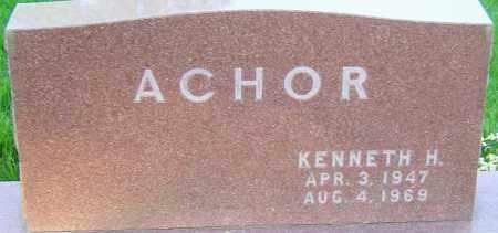 ACHOR, KENNETH - Montgomery County, Ohio   KENNETH ACHOR - Ohio Gravestone Photos
