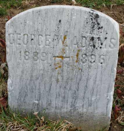ADAMS, GEORGE W. - Montgomery County, Ohio   GEORGE W. ADAMS - Ohio Gravestone Photos