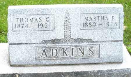 ADKINS, THOMAS G. - Montgomery County, Ohio | THOMAS G. ADKINS - Ohio Gravestone Photos
