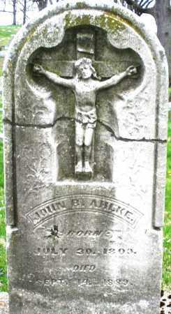 AHLKE, JOHN - Montgomery County, Ohio | JOHN AHLKE - Ohio Gravestone Photos