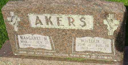 AKERS, MARGARET M - Montgomery County, Ohio | MARGARET M AKERS - Ohio Gravestone Photos