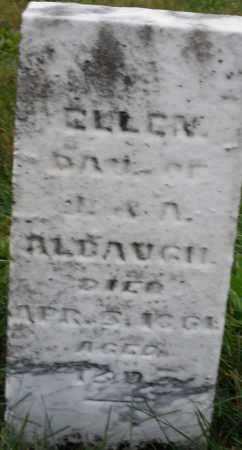 ALBAUGH, ELLEN - Montgomery County, Ohio | ELLEN ALBAUGH - Ohio Gravestone Photos