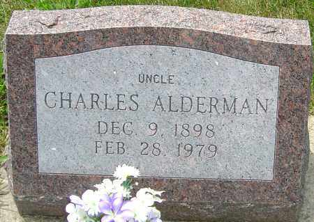 ALDERMAN, CHARLES - Montgomery County, Ohio | CHARLES ALDERMAN - Ohio Gravestone Photos