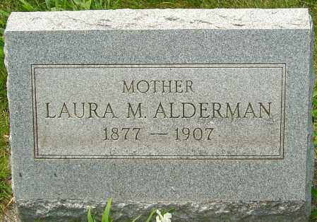 DEWEES ALDERMAN, LAURA - Montgomery County, Ohio | LAURA DEWEES ALDERMAN - Ohio Gravestone Photos