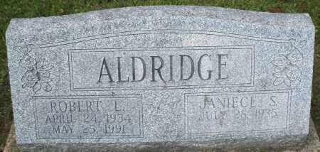 ALDRIDGE, ROBERT L. - Montgomery County, Ohio | ROBERT L. ALDRIDGE - Ohio Gravestone Photos
