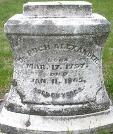 ALEXANDER, HUGH DR. - Montgomery County, Ohio | HUGH DR. ALEXANDER - Ohio Gravestone Photos