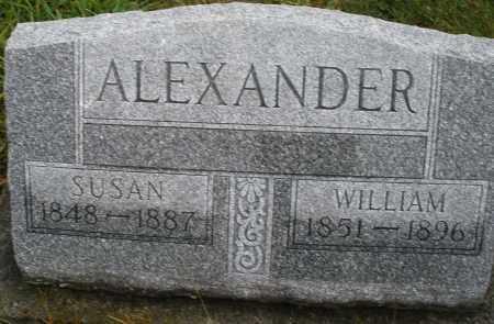 ALEXANDER, SUSAN - Montgomery County, Ohio   SUSAN ALEXANDER - Ohio Gravestone Photos