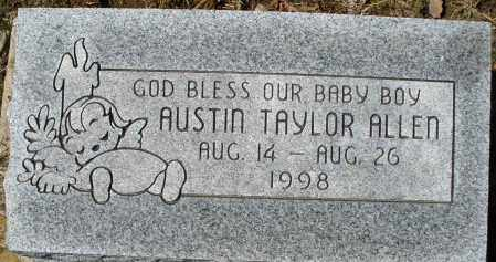 ALLEN, AUSTIN TAYLOR - Montgomery County, Ohio | AUSTIN TAYLOR ALLEN - Ohio Gravestone Photos