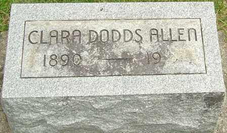 DODDS ALLEN, CLARA - Montgomery County, Ohio | CLARA DODDS ALLEN - Ohio Gravestone Photos