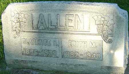 ALLEN, EDITH - Montgomery County, Ohio | EDITH ALLEN - Ohio Gravestone Photos