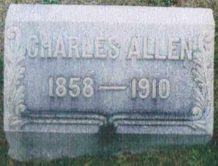 ALLEN, CHARLES - Montgomery County, Ohio   CHARLES ALLEN - Ohio Gravestone Photos