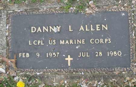 ALLEN, DANNY L. - Montgomery County, Ohio   DANNY L. ALLEN - Ohio Gravestone Photos