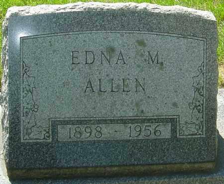 ALLEN, EDNA M - Montgomery County, Ohio   EDNA M ALLEN - Ohio Gravestone Photos