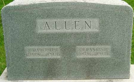 HATFIELD ALLEN, MABEL - Montgomery County, Ohio | MABEL HATFIELD ALLEN - Ohio Gravestone Photos