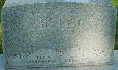 ALLEN, EVA M - Montgomery County, Ohio | EVA M ALLEN - Ohio Gravestone Photos