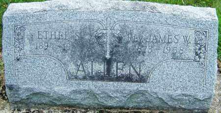 ALLEN, JAMES W - Montgomery County, Ohio | JAMES W ALLEN - Ohio Gravestone Photos