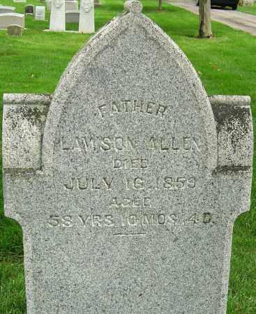 ALLEN, LAWSON - Montgomery County, Ohio | LAWSON ALLEN - Ohio Gravestone Photos