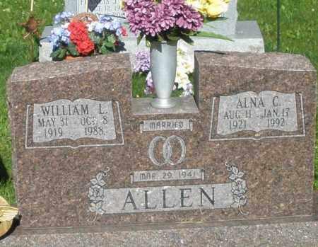 ALLEN, WILLIAM L. - Montgomery County, Ohio | WILLIAM L. ALLEN - Ohio Gravestone Photos