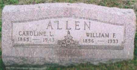 ALLEN, CAROLINE LOUISE - Montgomery County, Ohio | CAROLINE LOUISE ALLEN - Ohio Gravestone Photos