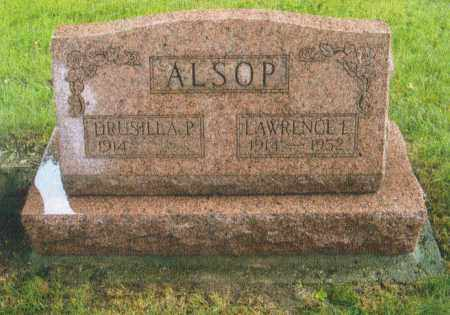 ALSOP, DRUSILLA PAULINE - Montgomery County, Ohio | DRUSILLA PAULINE ALSOP - Ohio Gravestone Photos
